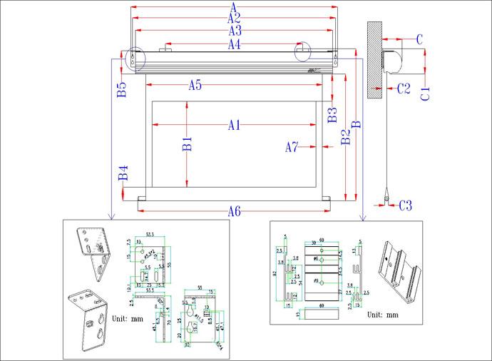 EliteScreen SK110XHW-E12 HOME CINEMA elektromos vetítővászon, 243,8 cm x 137,2 cm