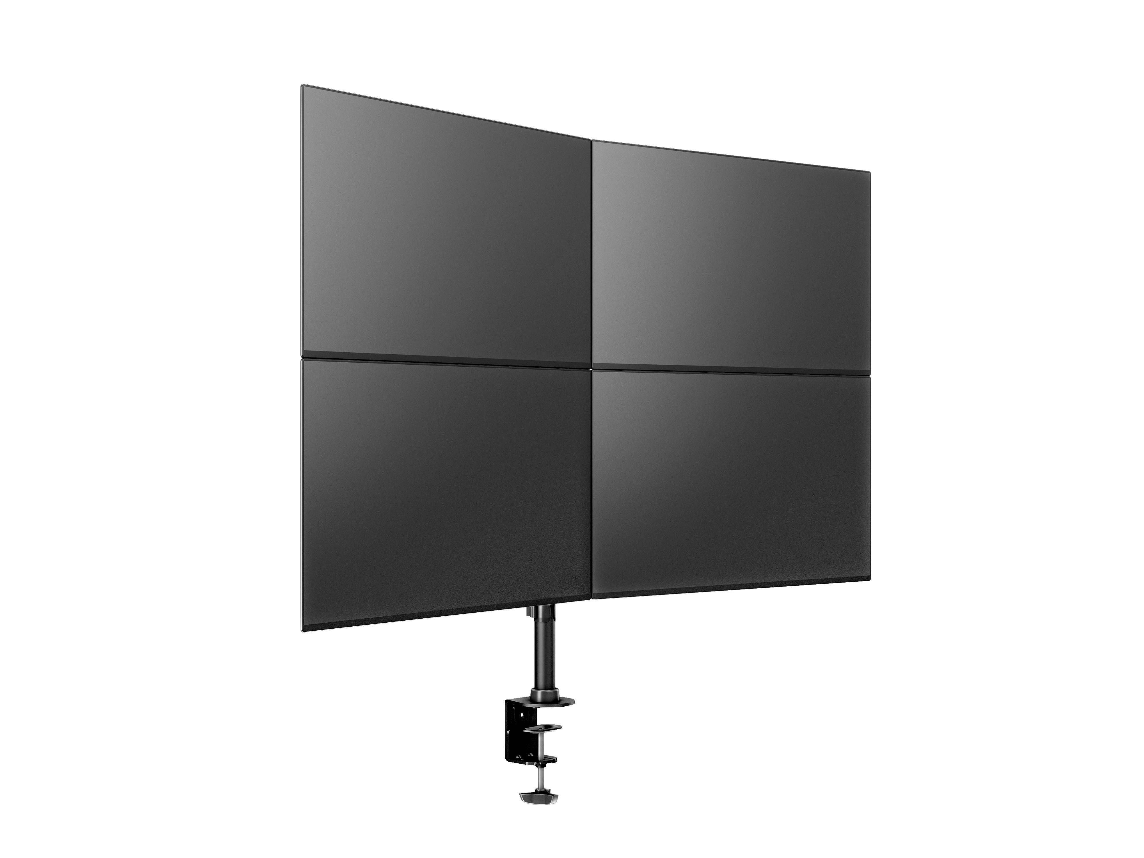"Multibrackets MB-3316 négykaros monitortartó, 15""-27"", max 8kg, fekete"