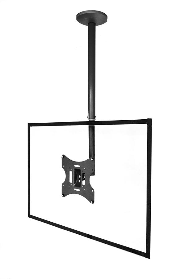 Blackmount S54 BLACK LCD/TV mennyezeti tartó,23''-32'' (58cm-106cm), max. 30 kg, fekete