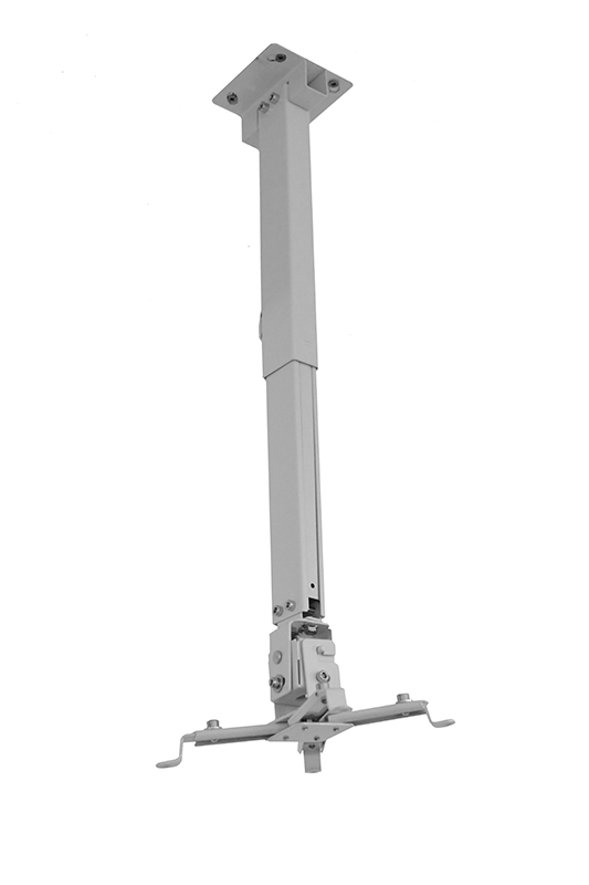Blackmount GATV2 mennyezeti projektor tartó, állítható 63-100 cm, max. 15 kg, fehér
